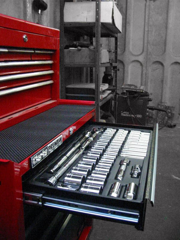 Machine Mart tool cabinet