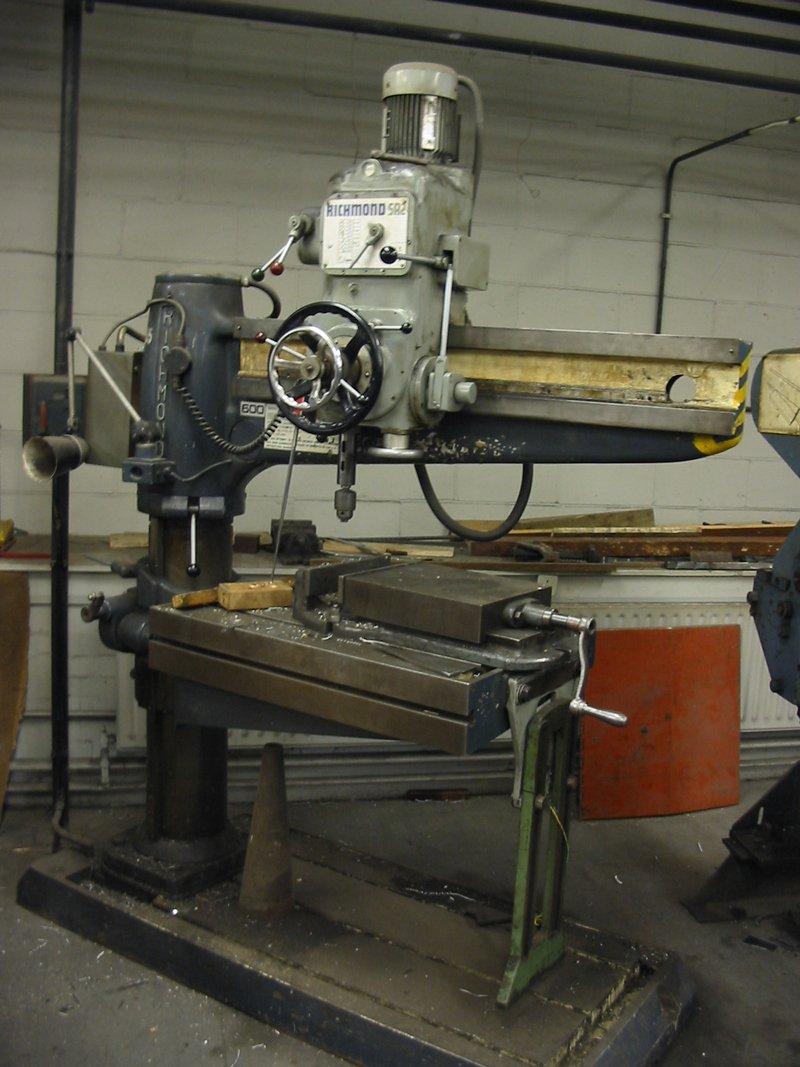 Richmond radial arm drill