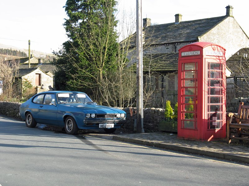 Capri in Kettlewell, North Yorkshire