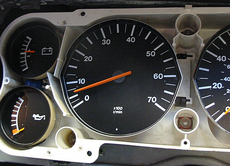 Six cylinder rev counter on Capri reads low when you