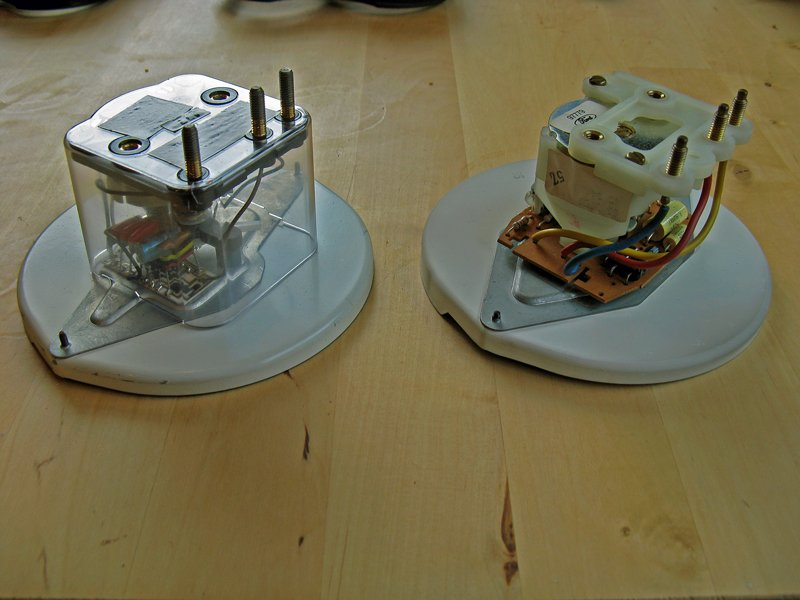 4-cylinder and V6 Capri tachometers