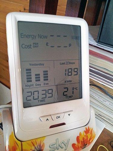 CurrentCost energy readings flatlined