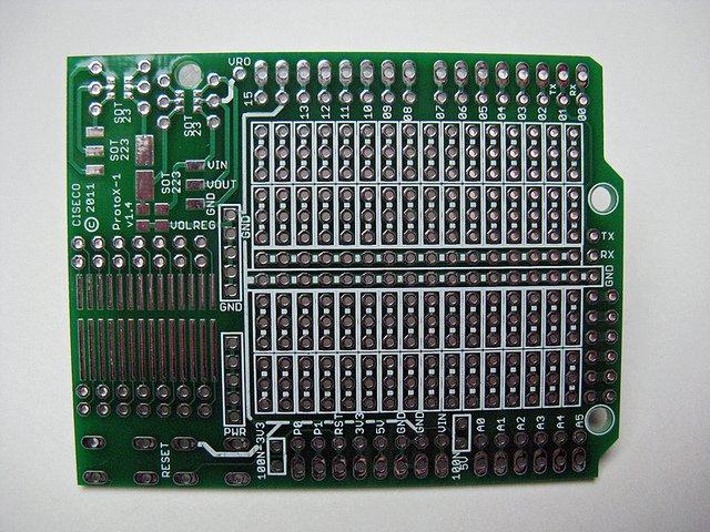 Ciseco ProtoX shield board