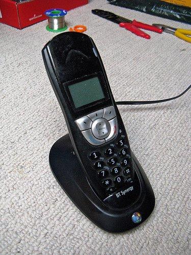 A useless BT Synergy 4500 phone